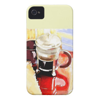 Coffee Pot on the Table Case-Mate iPhone 4 Case