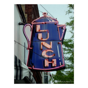 Diner Signs Office School Products Zazzle