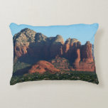 Coffee Pot Rock I in Sedona Arizona Accent Pillow
