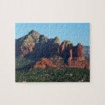 Coffee Pot Rock I in Sedona Arizona Jigsaw Puzzle