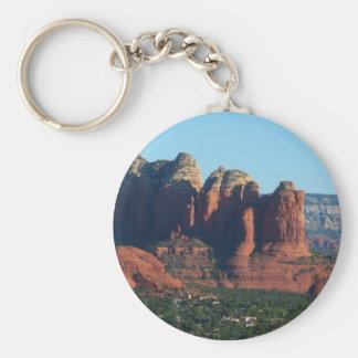Coffee Pot Rock I in Sedona Arizona Keychain