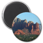 Coffee Pot Rock I in Sedona Arizona Magnet