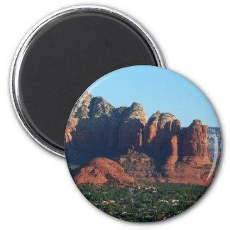 Coffee Pot Rock I in Sedona Arizona Magnet