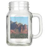 Coffee Pot Rock I in Sedona Arizona Mason Jar