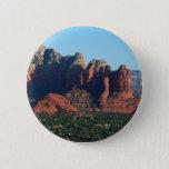 Coffee Pot Rock I in Sedona Arizona Pinback Button