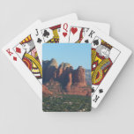 Coffee Pot Rock I in Sedona Arizona Playing Cards