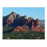 Coffee Pot Rock I in Sedona Arizona Postcard