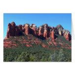 Coffee Pot Rock II in Sedona Arizona Card