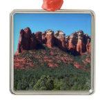 Coffee Pot Rock II in Sedona Arizona Metal Ornament