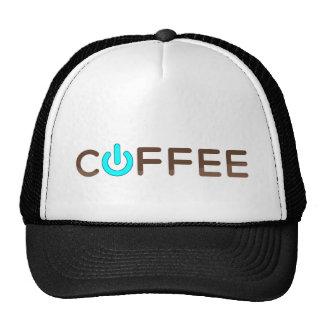 Coffee Power (Blue) Trucker Hat