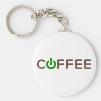 Coffee Power (Green) Keychains