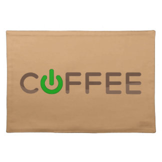 Coffee Power (Green) Placemat
