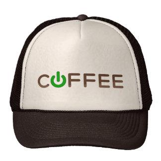 Coffee Power (Green) Trucker Hat