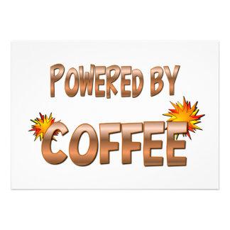 Coffee Power Custom Announcement