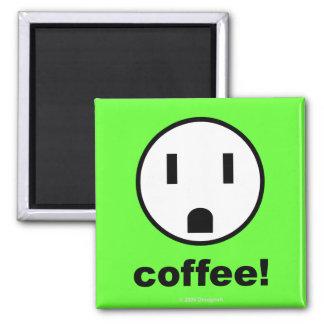Coffee Power - Magnet (Green)