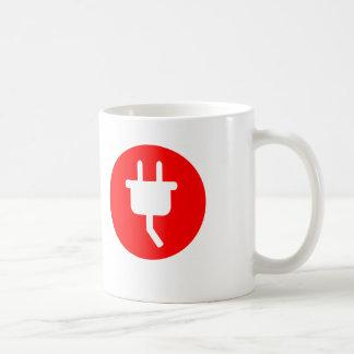 Coffee & Power Classic White Coffee Mug