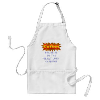 Coffee Praise Be Adult Apron
