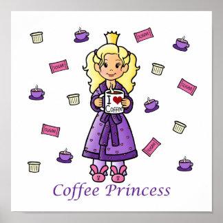 Coffee Princess Posters