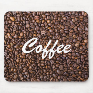 Coffee printed mouse pad
