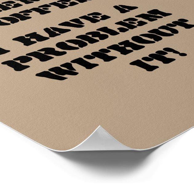 Coffee Problems E Card Quote