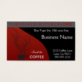 Coffee Punch Cards