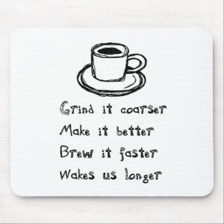 Coffee Punk Mousepad