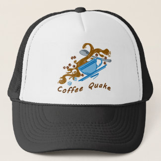 Coffee Quake Trucker Hat