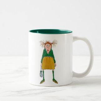 Coffee! Quick! Please! Two-Tone Coffee Mug