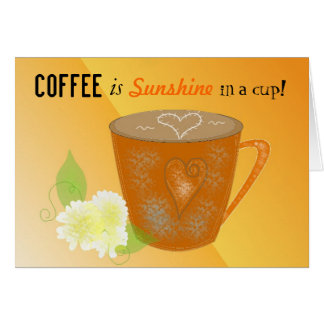Coffee Quote Card