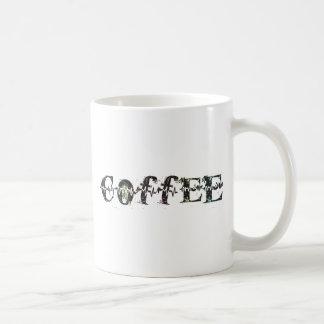 COFFEE - Rainbow Pulse Classic White Coffee Mug