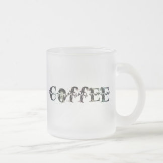 COFFEE - Rainbow Pulse Frosted Glass Coffee Mug