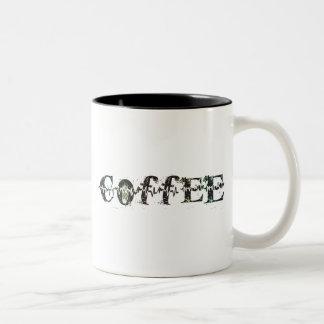COFFEE - Rainbow Pulse Two-Tone Coffee Mug