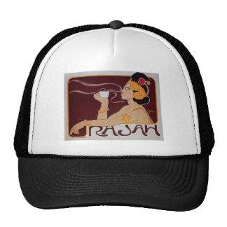 Coffee Rajah Vintage Hot Coffee Drink Ad Trucker Hat