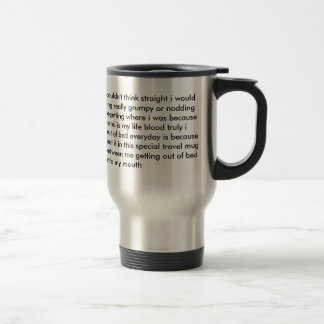 Coffee Rambling Travel Mug