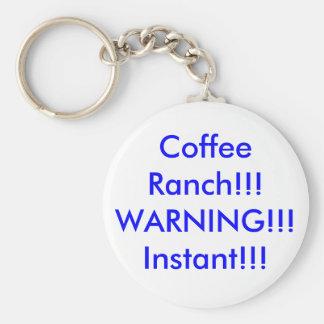 Coffee Ranch Keychain