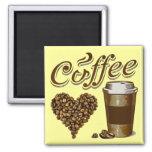 Coffee Refrigerator Magnet