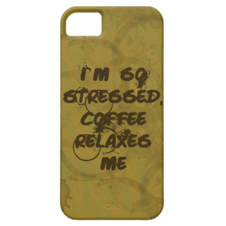 Coffee Relaxes Me iPhone 5 ID Case