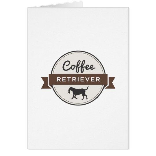 Coffee Retriever Gear! Card