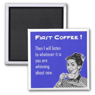 Coffee Retro - Magnet