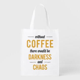 Coffee Reusable Grocery Bag