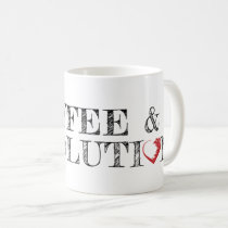Coffee & Revolution Logo Mug