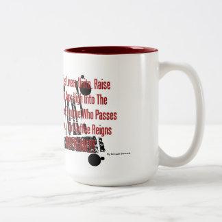 Coffee Revolution Two-Tone Coffee Mug