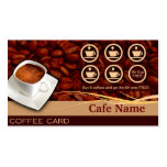 Coffee Rewards and Business Card - Cafe
