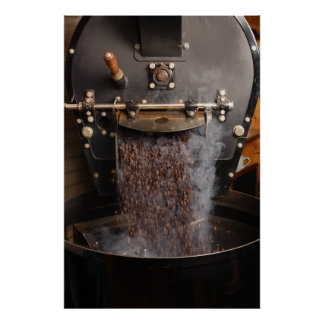 coffee roaster poster
