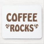 COFFEE ROCKS MOUSE PAD