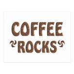 COFFEE ROCKS POSTCARD