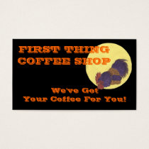 Coffee Rooster Business Card