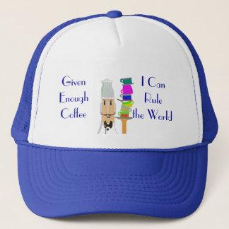 Coffee-Rule the World Trucker Hat