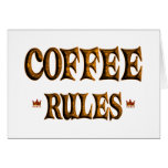 COFFEE RULES CARDS