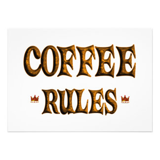 COFFEE RULES INVITES